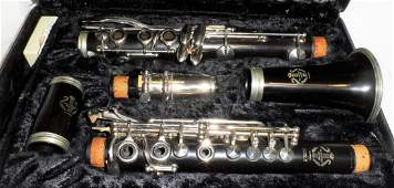 Ecole Clarinet French Maker Excellent