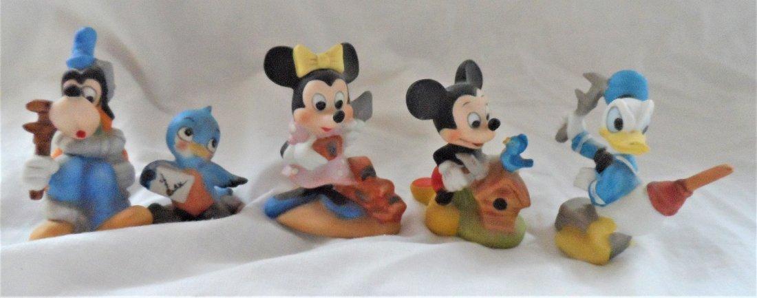 Walt Disney Productions Ceramic Figures Grouping