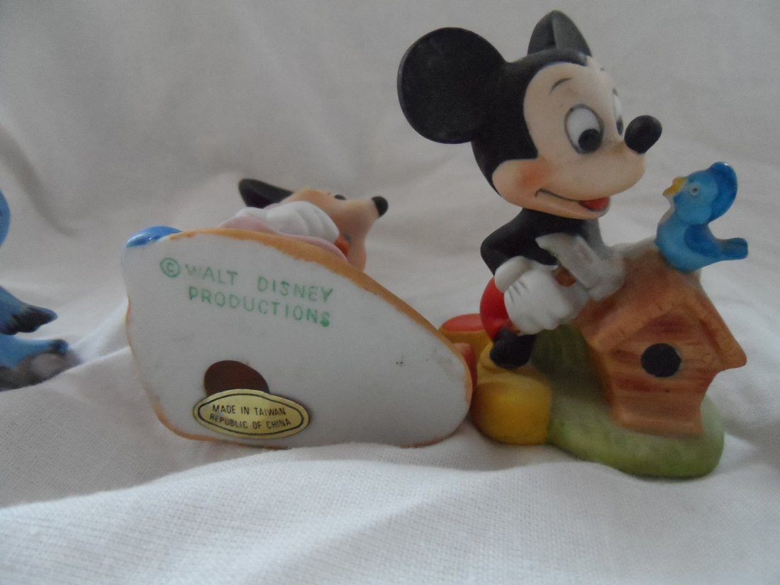 Walt Disney Productions Ceramic Figures Grouping - 2