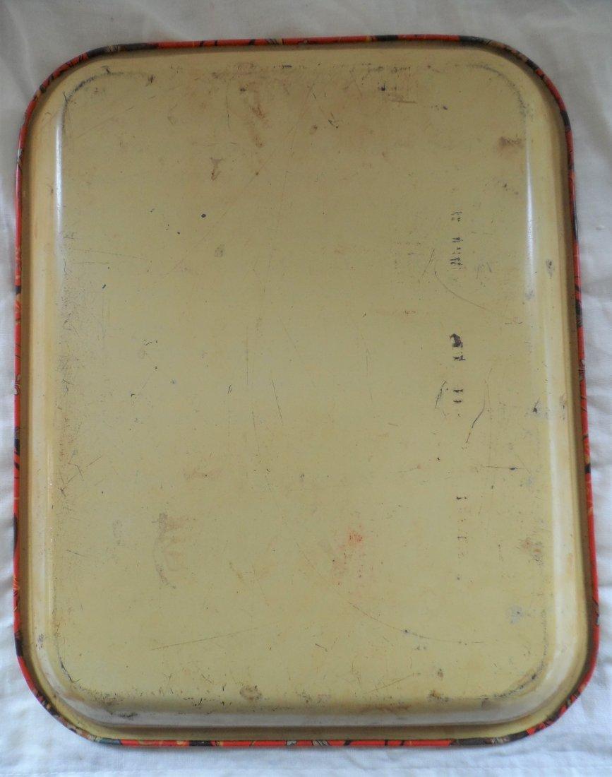 Rare Papier Cigarettes Italy Club Tin Tray - 3