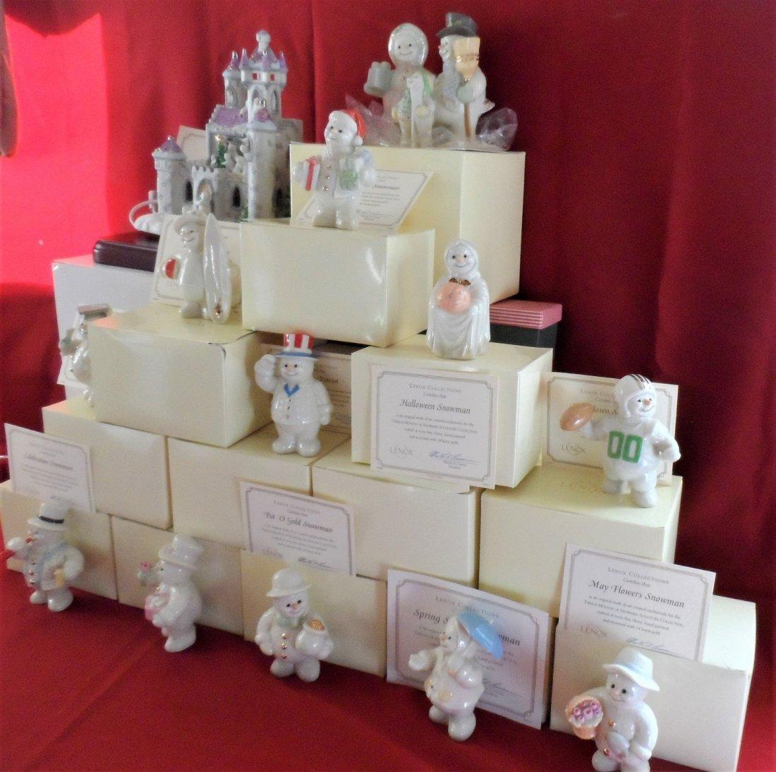 Lenox Ornaments All 12 Seasons NEW in Box.
