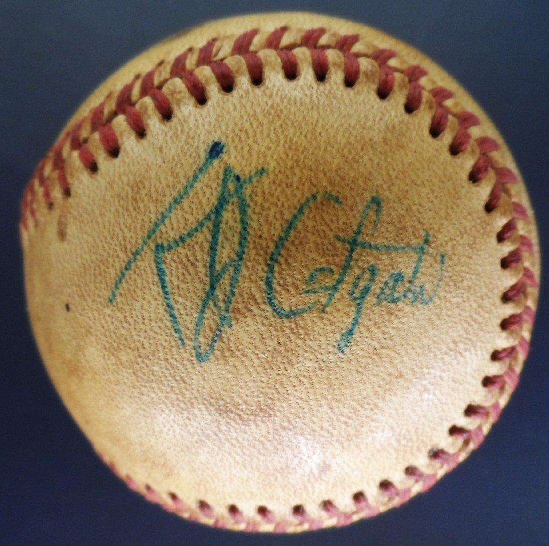 Signed Baseball West Virginia Estate