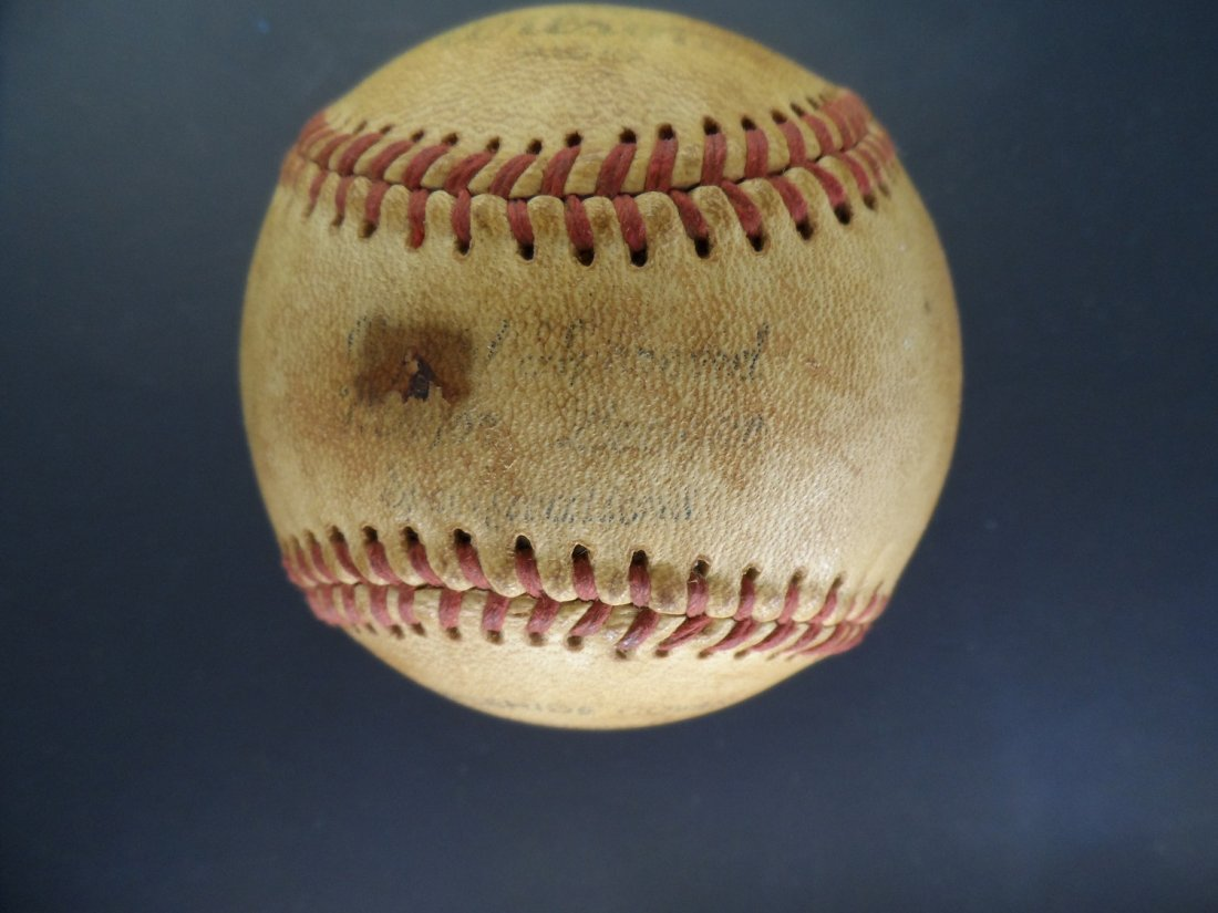 Signed Baseball West Virginia Estate - 2
