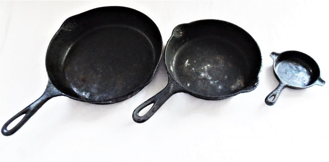 Cast Iron Pan Grouping Griswold