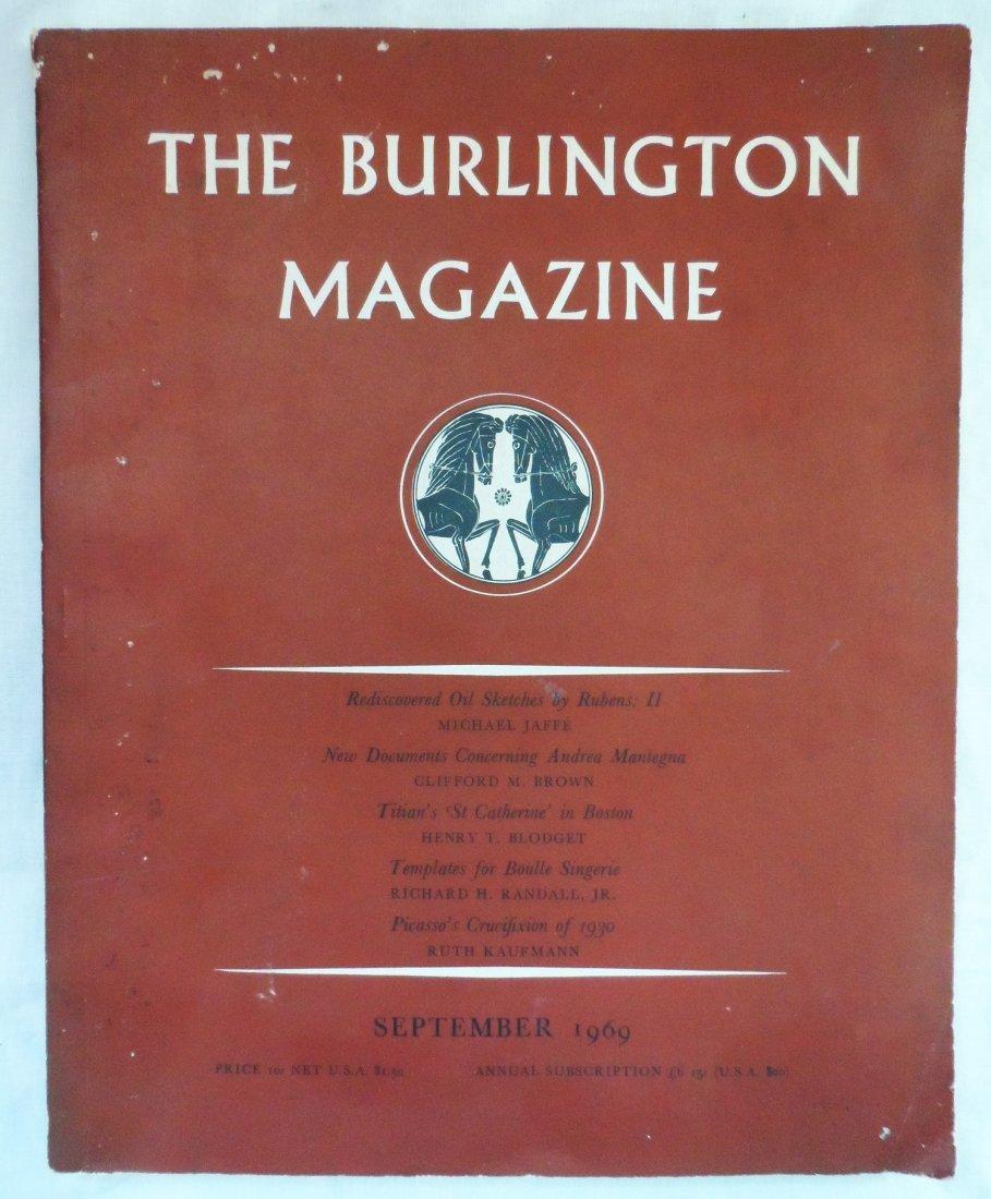 The Burlington Magazine Art 1969