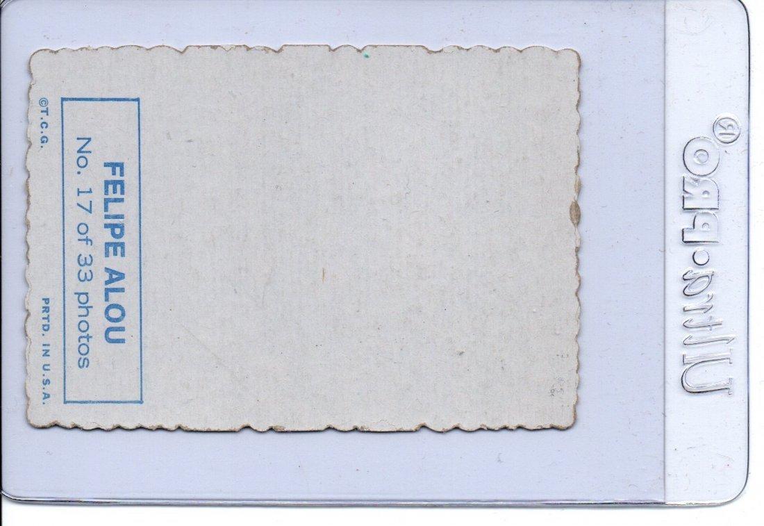 FELIPE ALOU Baseball Card Vintage - 2