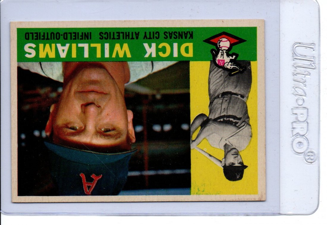 Dick Williams Baseball Card Old Very Nice Sports Card