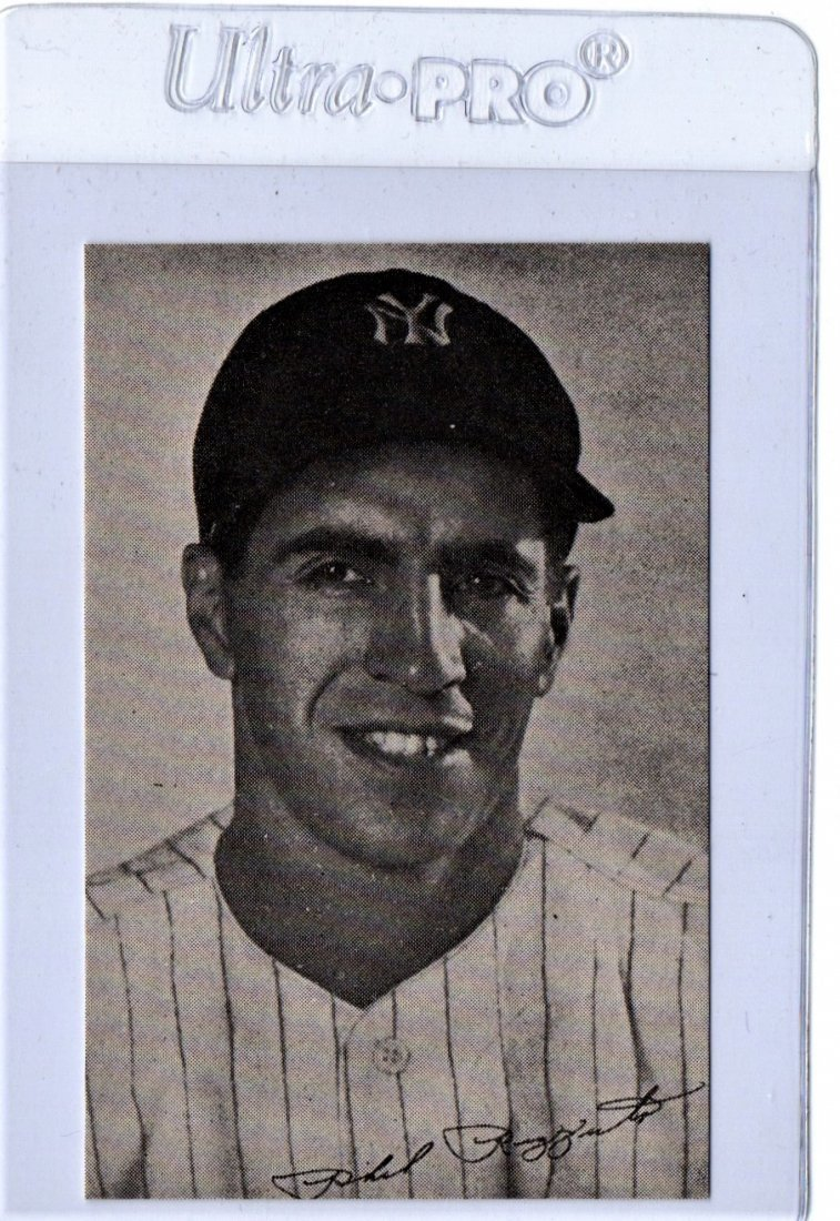1947 Phil Rizzuto Baseball Card Homogenized Bread