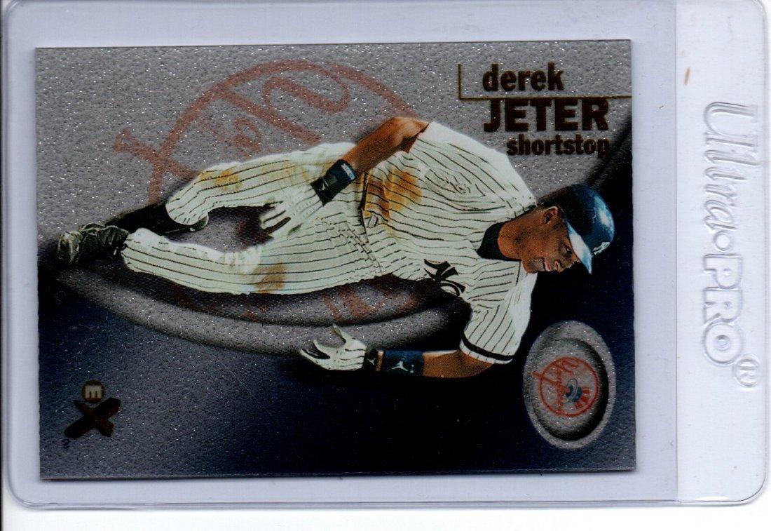 Derek Jeter Baseball Card Fleer