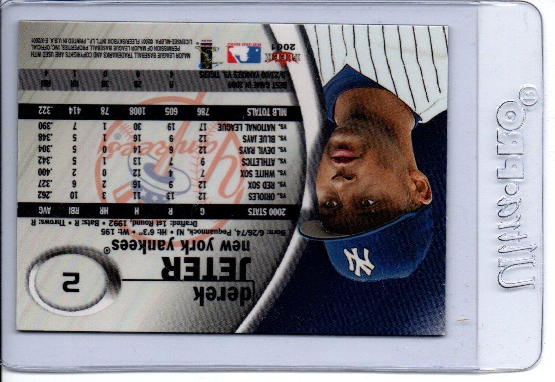 Derek Jeter Baseball Card Fleer - 2
