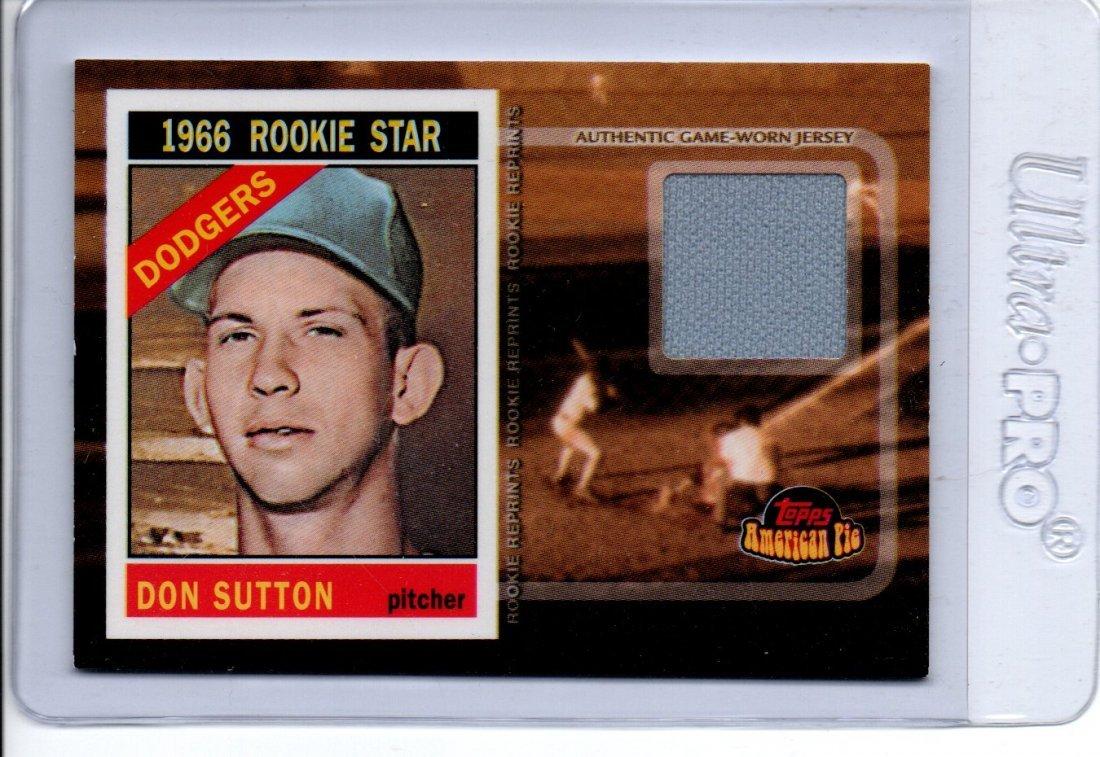1966 Don Sutton Topps Rookie Reprint Baseball Card