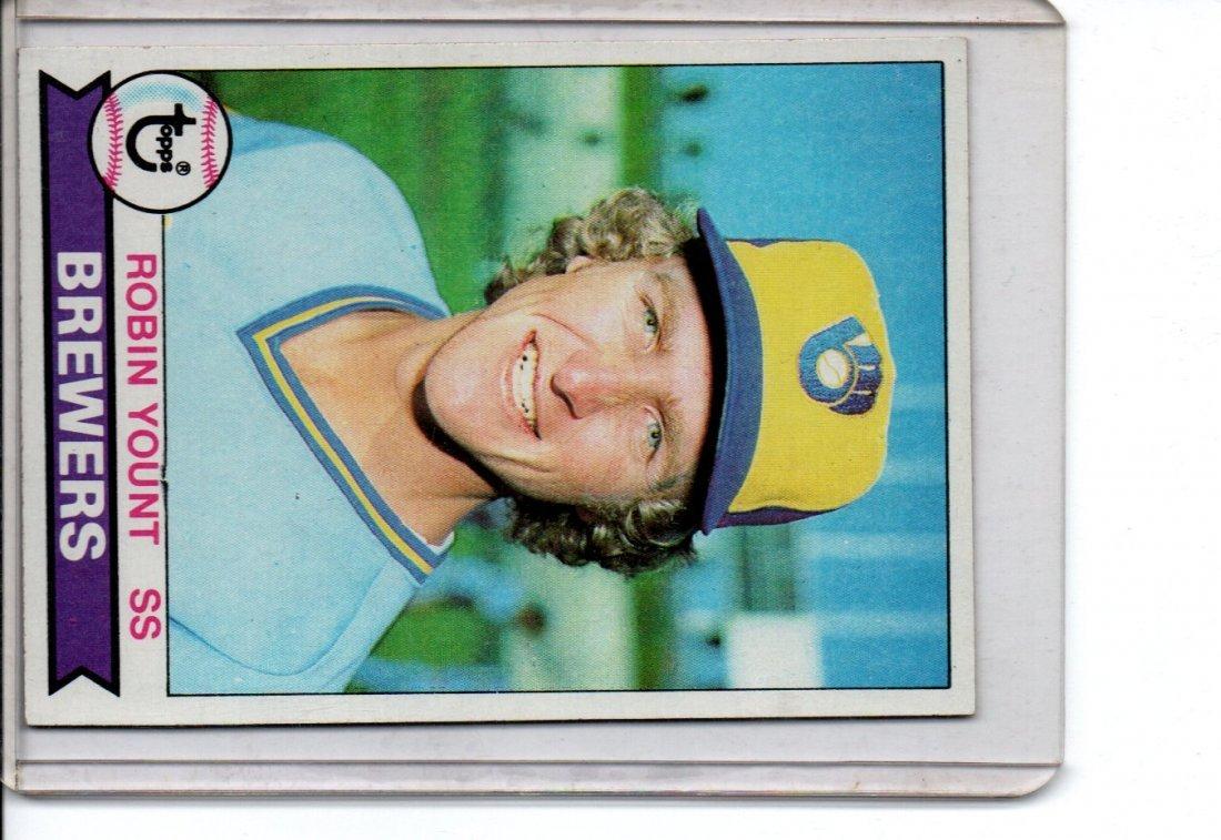 1979 Robin Young Baseball Card Topps