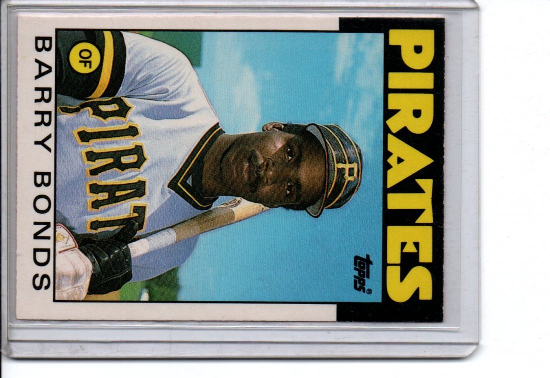 1985 Barry Bonds Baseball Card Sports