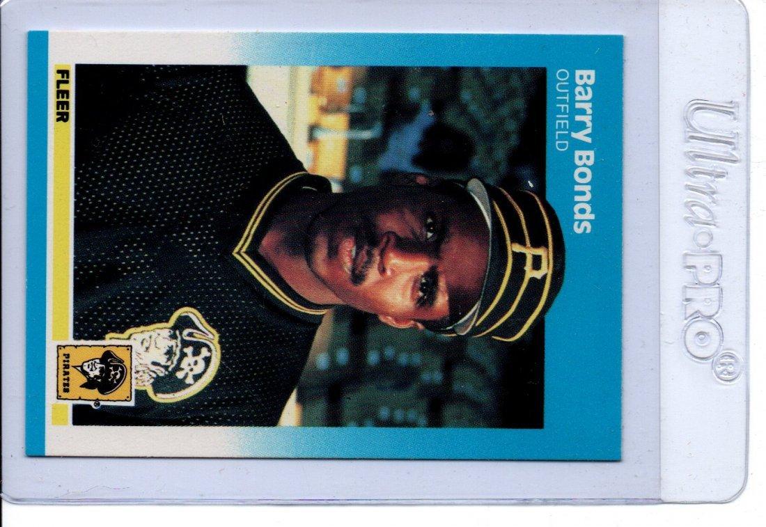 Barry Bonds Baseball Card Sports