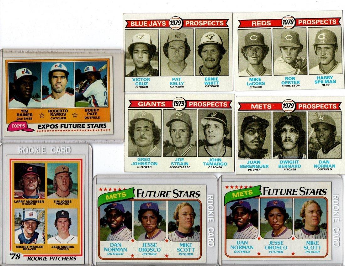 1970s Topps Baseball Card Lot