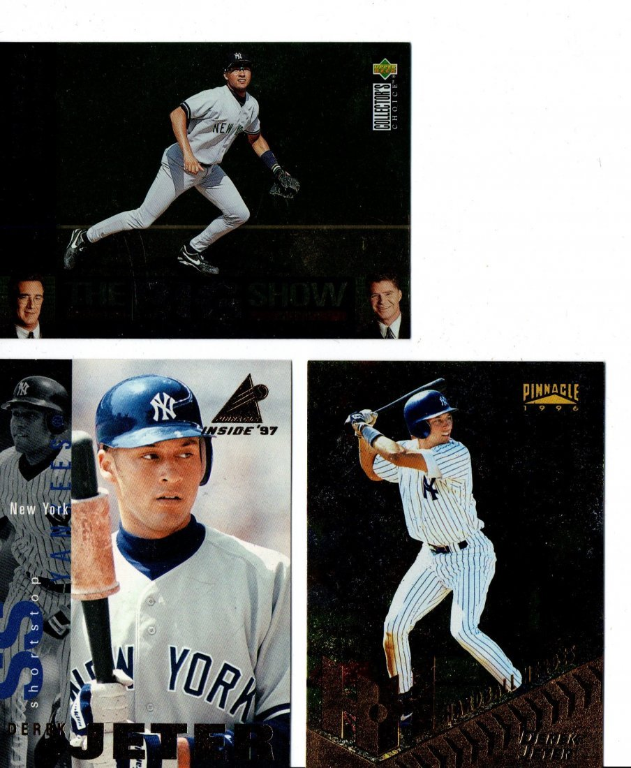 Derek Jeter Baseball Card Sport Card Lot