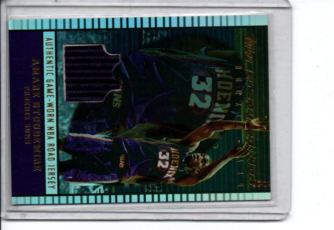 AMARE STOUDEMIRE BASKETBALL CARD GAME USED