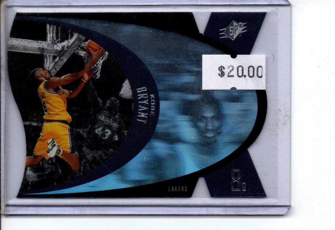 KOBE BRYANT NBA BASKETBALL CARD