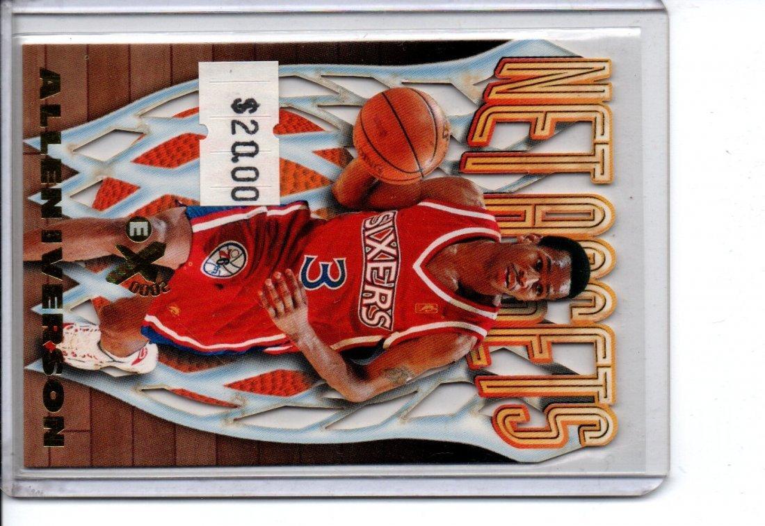 ALLEN IVERSON #7/20 SKYBOX NBA BASKETBALL CARD