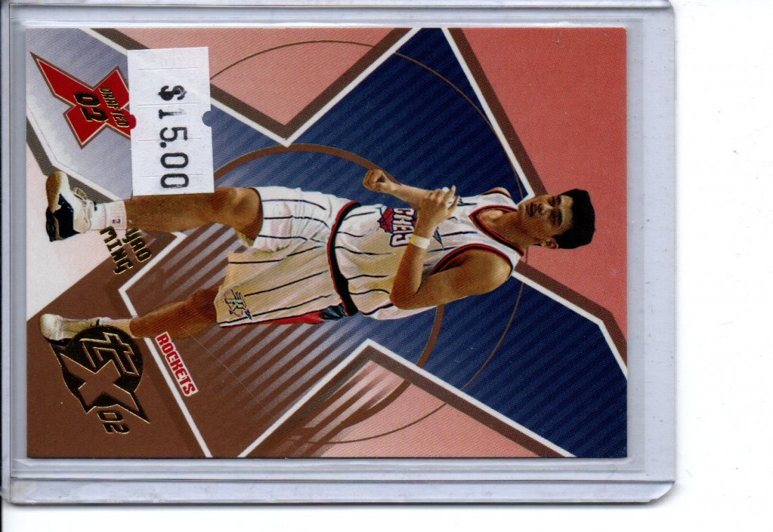 YAO MING TOPPS NBA BASKETBALL CARD