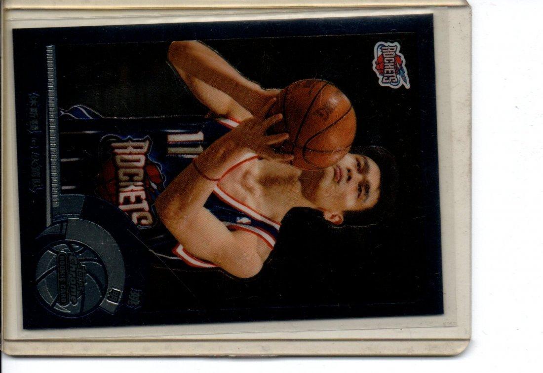 YAO MING #146 (CHINESE REFRACTOR) NBA BASKETBALL CARD