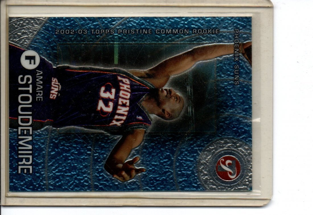 AMARE STOUDEMIRE TOPPS PRISTINE NBA BASKETBALL CARD