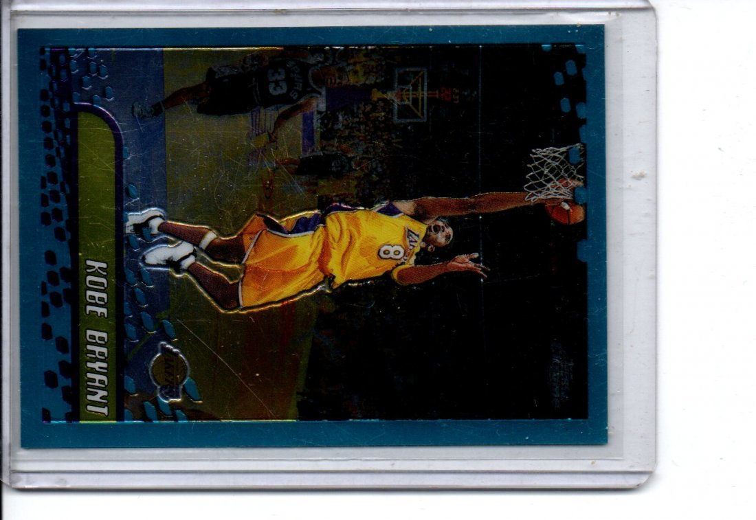 KOBE BRYANT TOPPS CHROME NBA BASKETBALL CARD