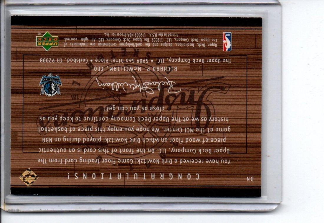 DIRK NOWITZKI UPPER DECK NBA BASKETBALL CARD - 2