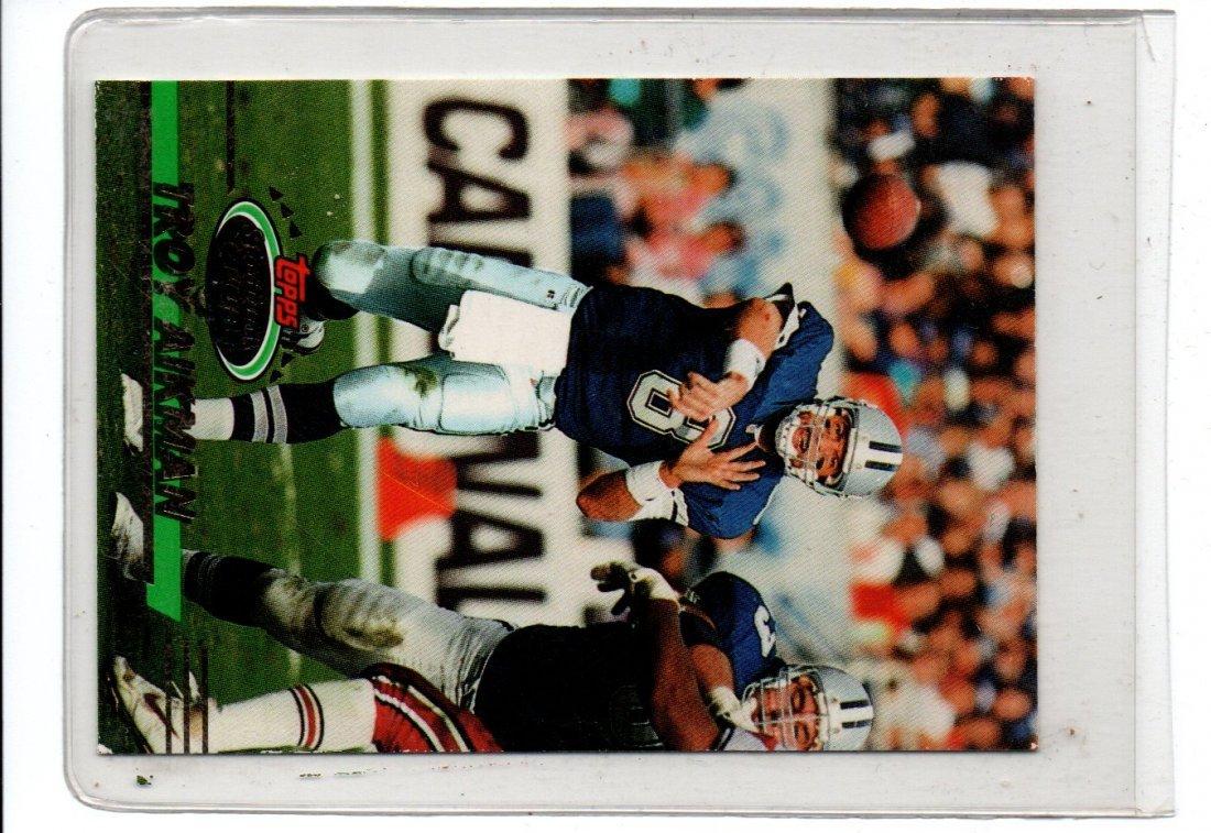 TROY AIKMAN TOPPS 1993 NFL FOOTBALL CARD
