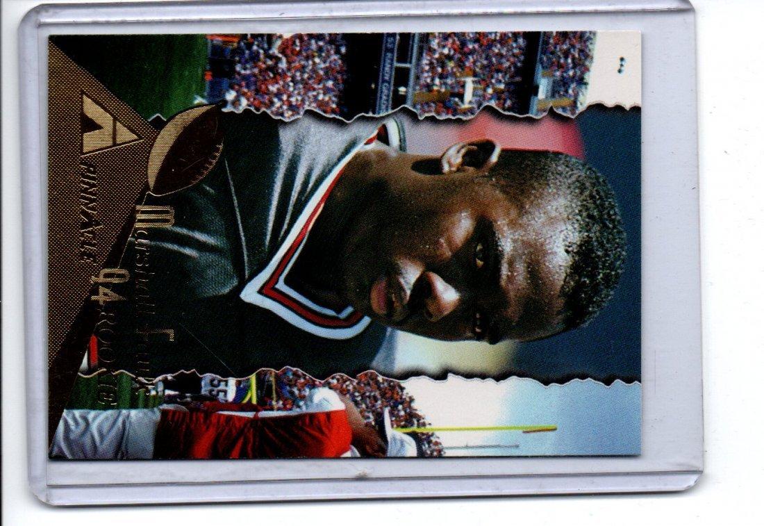 MARSHALL FAULK  PINNACLE NFL FOOTBALL CARD