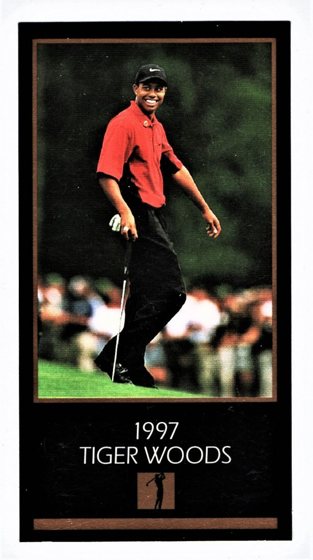 1997 TIGER WOOD ROOKIE CARD SPORTS CARD
