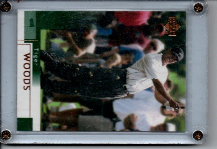 TIGER WOODS UPPER DECK #1 CARD SPORTS CARD