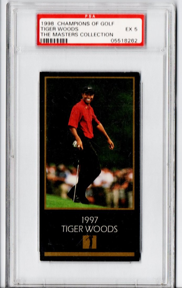 1998 PSA GRADED TIGER WOODS GOLF CARD SPORTS CARD