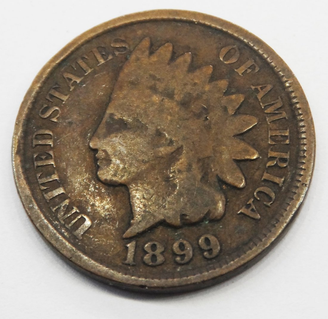 1899 Indian Head Penny One Cent