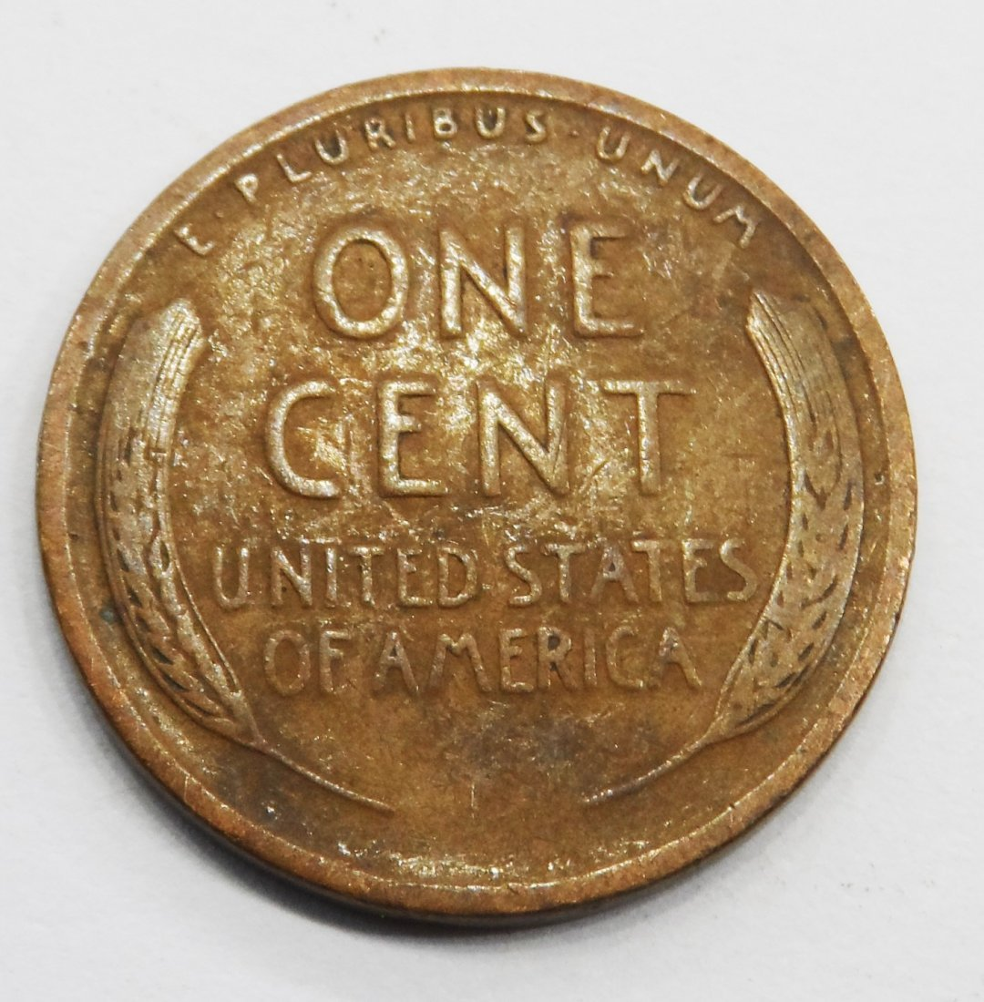 1920 Wheat Cent Lincoln Head Penny One Cent - 2