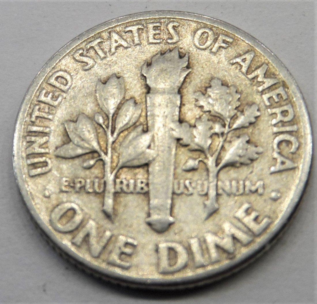 1948 90% Silver Dime - 2