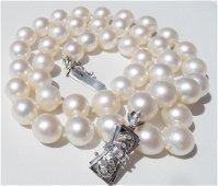 18k Gold Akoya 9mm Cultured Strand Pearls Appraisal