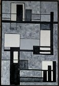 Large Abstract Signed Kreider 1966