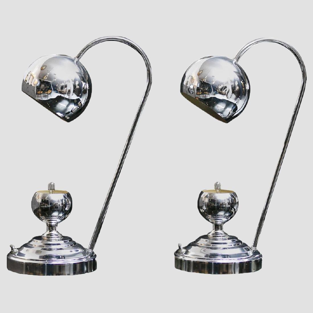 Chrome Desk Lamps