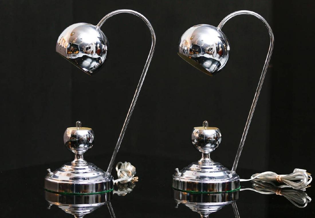 Chrome Desk Lamps - 2