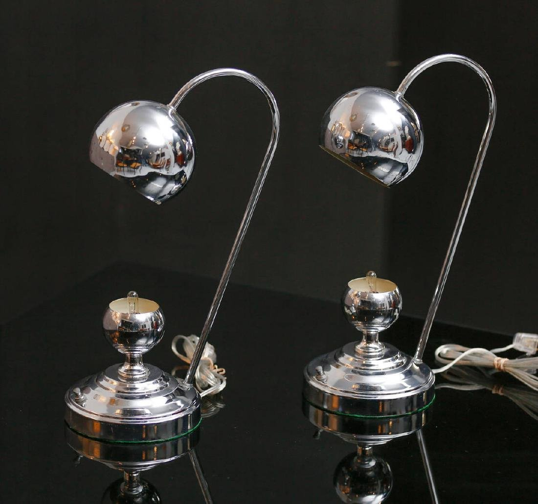 Chrome Desk Lamps - 3