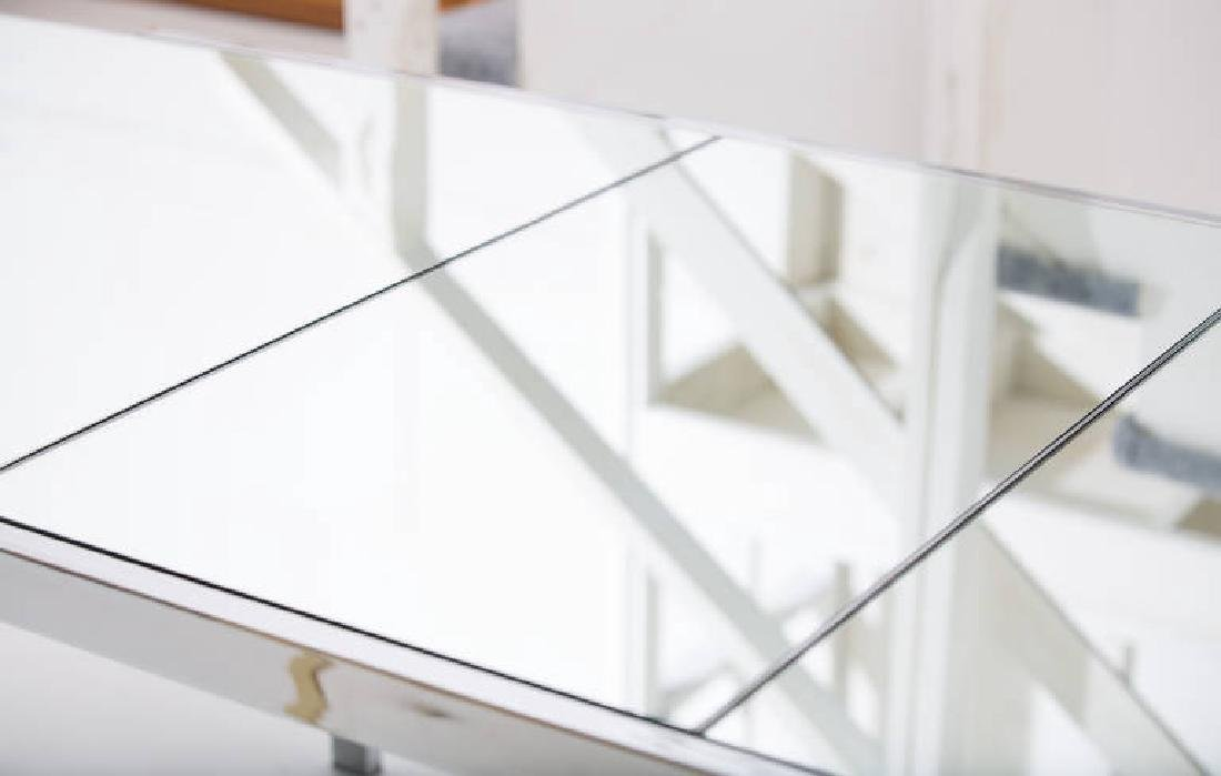 Pierre Cardin Mirror and Steel Table - 5