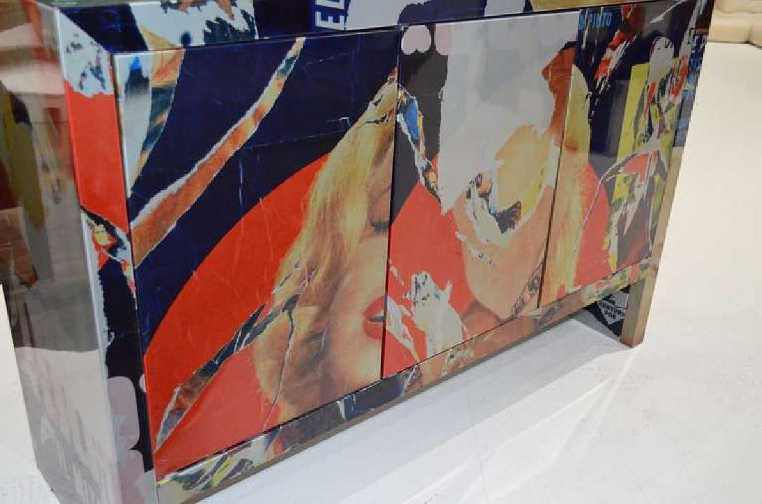 "Mimmo Rotella Art Cabinet ""Marylin Monroe"" - 3"