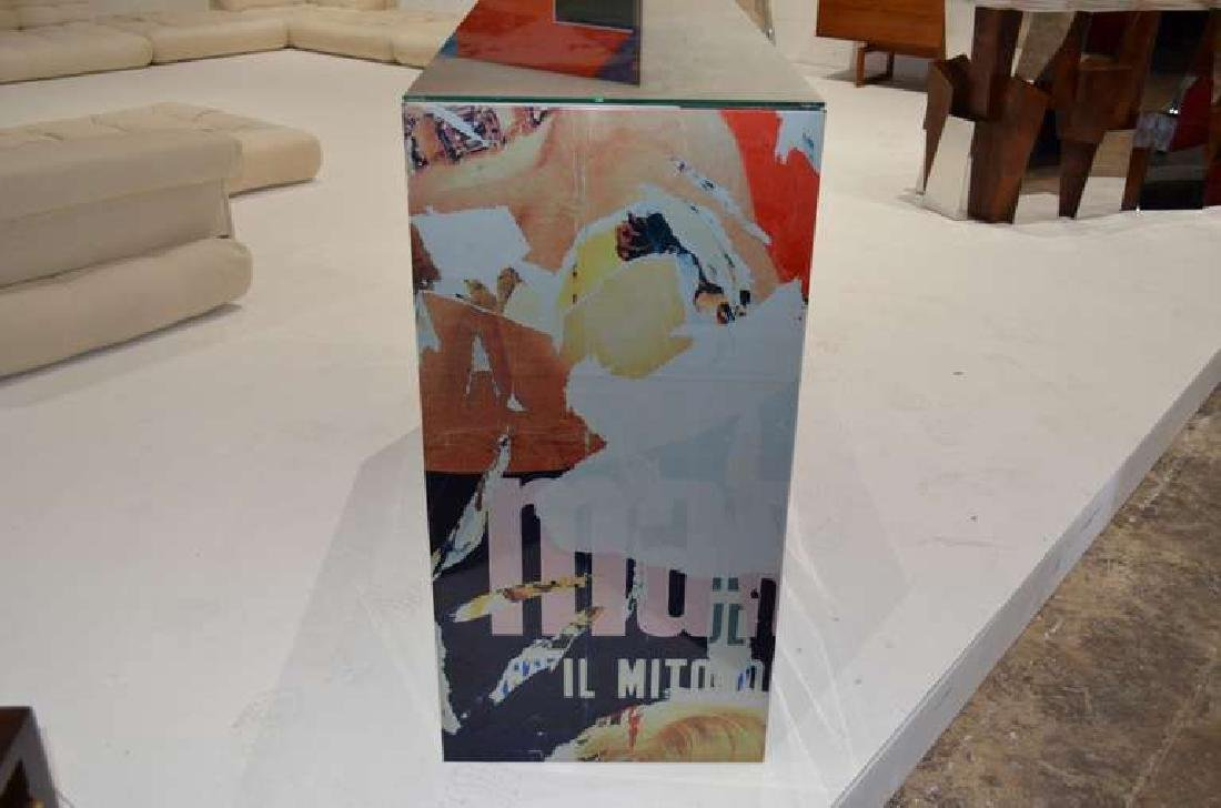 "Mimmo Rotella Art Cabinet ""Marylin Monroe"" - 4"