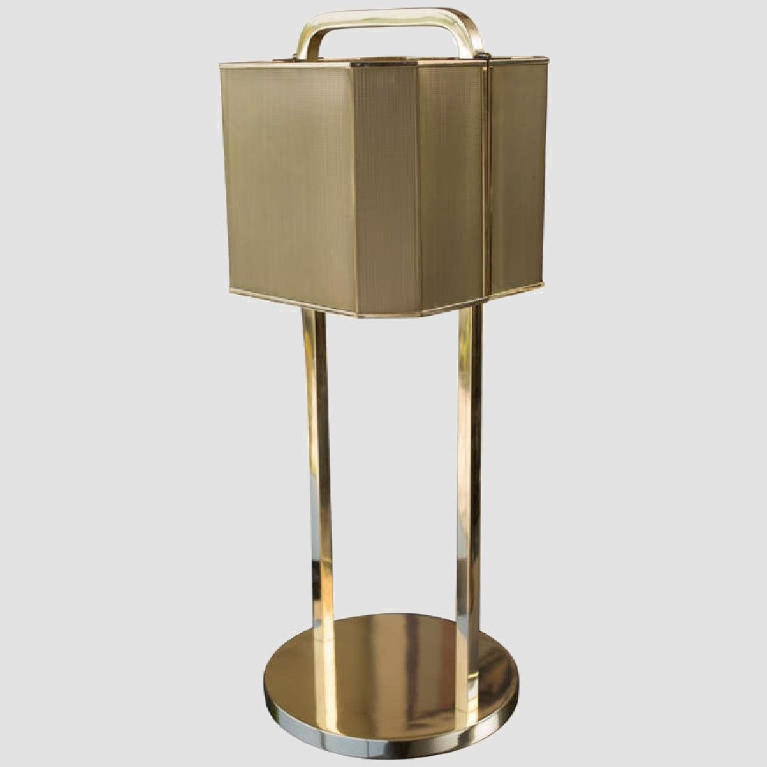 1970's Brass Table Lamp