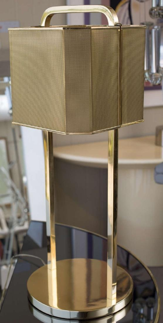 1970's Brass Table Lamp - 3