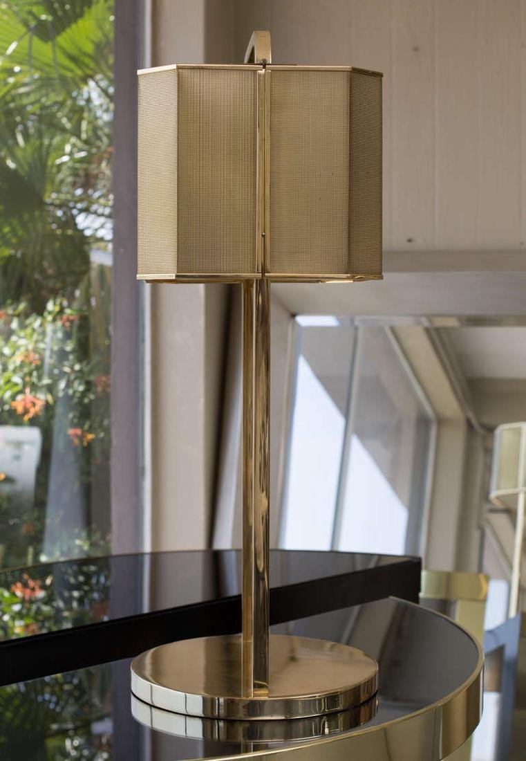 1970's Brass Table Lamp - 4