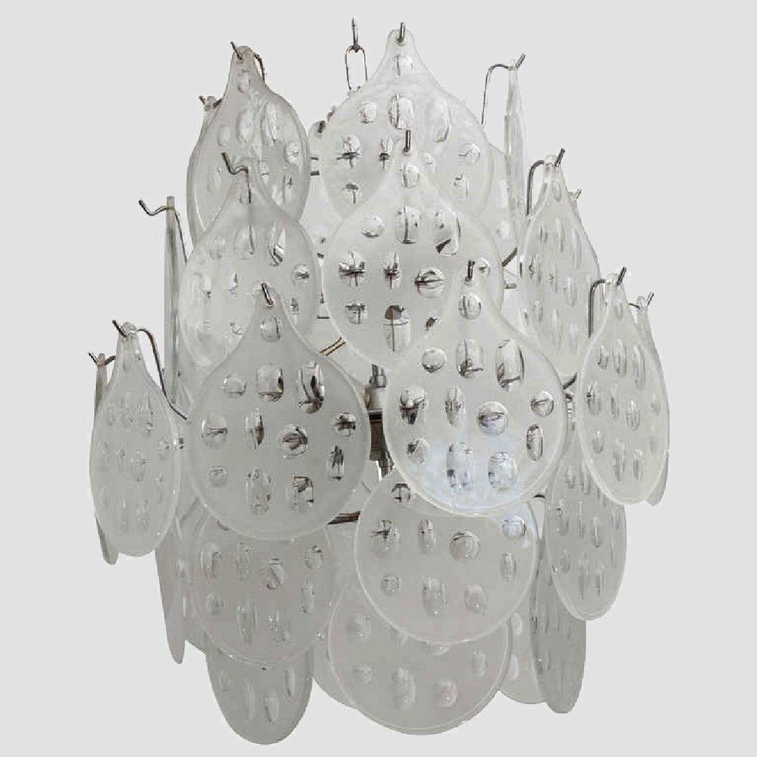 Vistosi 1960's Chandelier