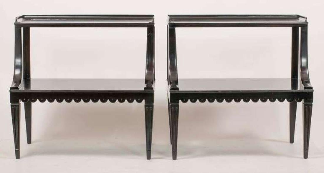 Dunbar Two Tier End Tables - 5