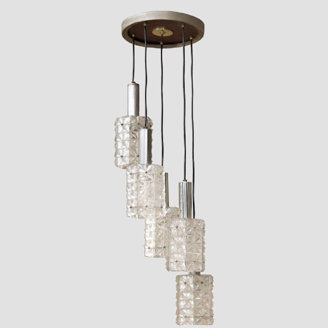 Mazzega Five Lights Pendant